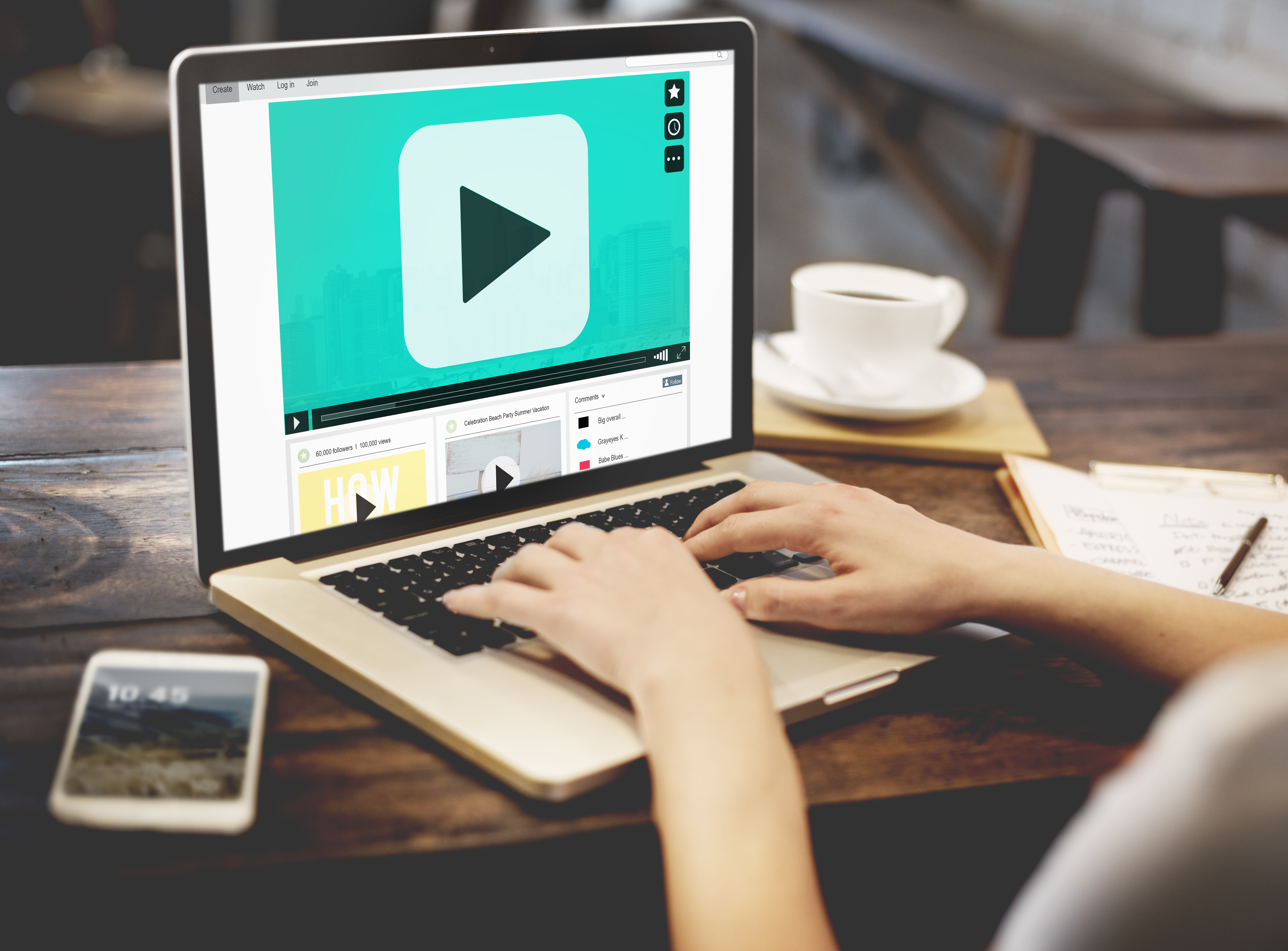 Using videos on your website the correct way.